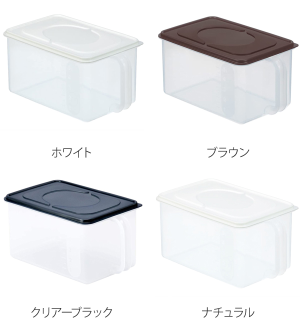 Storage Container Handy Stocker Shallow With Handles (save Case Storage  Stocker Kitchen Stocker Food Storage Containers Storage Case Plastic Storage  ...