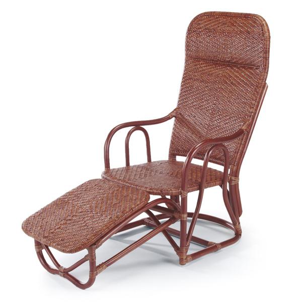 籐 ハイバックチェア 背もたれ座椅子 ラタン製 A47D 座面高34cm ( 送料無料 椅子 イス いす ラタン家具 アジアン家具 ハイバック ハイバックチェアー チェア チェアー 座椅子 座いす 座イス シェーズロング 折りたたみ 折り畳み )