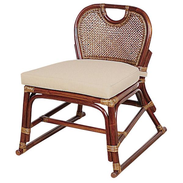 籐 ラタンチェア スタッキングチェア 幅52cm ( 送料無料 アジアン家具 ラタン家具 椅子 スタッキングチェアー イス いす チェア チェアー リゾート 手編み 積み重ね クッション 収納 )