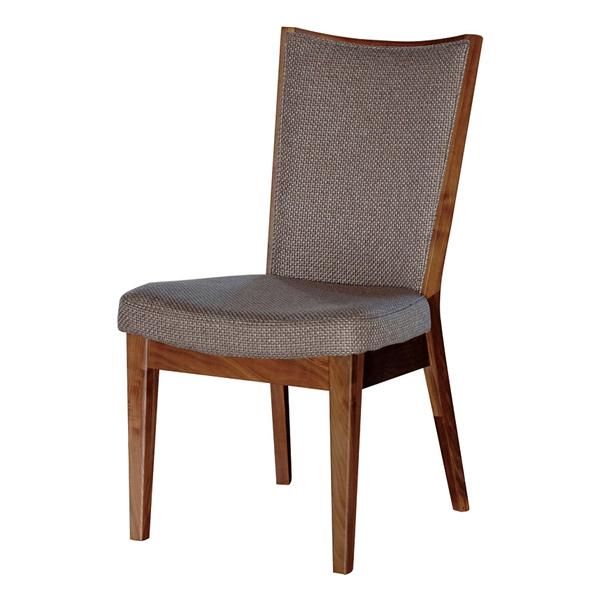 ダイニングチェア 椅子 モダンデザイン ウォールナット材 DUKE 座面高 43cm ( 送料無料 チェア ダイニングチェアー 木製 イス いす ウォルナット おしゃれ 完成品 )