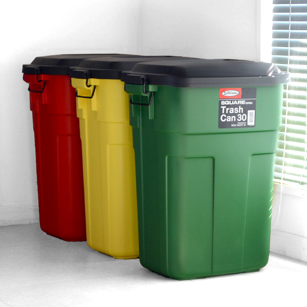 opposed to a solid body vivid coloring patsu and bright kitchen accented trash bin foreign products such as color is the cuteness was eyecatching