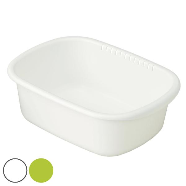 銀イオンの抗菌効果で衛生的に使える小判型洗い桶 洗い桶 プラスチック製 小判型 クッキンパル 2020新作 男女兼用 洗桶 洗いおけ たらい タライ 桶 シンク周り 食器洗い 白 緑 すすぎ 漬け置き洗い 漬け置きカゴ おけ 水周り