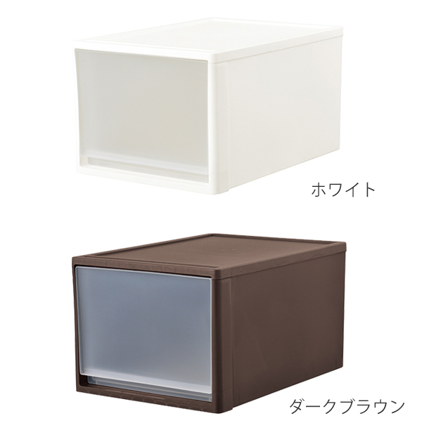 Product made in storage case stole 53-L width 39* depth 53* 30cm in height  closet storing plastic drawer Japan (clothes clothing storing article