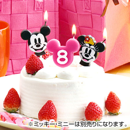 Number Candles Birthday Disney Candle Mickey Mouse Cake