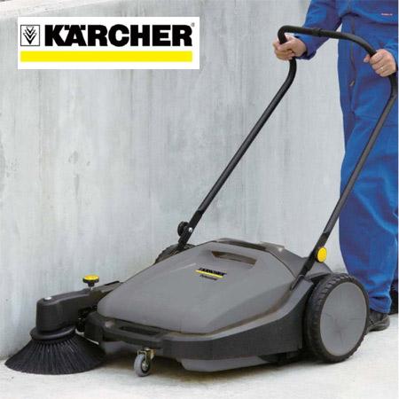 手押し式掃除機 業務用 ケルヒャー スイーパー KM70/20C ( 送料無料 Karcher 清掃機器 業務用 )