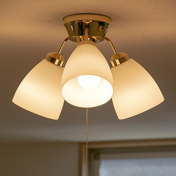 照明 3灯 LED対応 シーリングライト 天井照明 3段階 切り替え ( 送料無料 照明器具 ライト シーリング 天井 リビング照明 リビング ダイニング 廊下 玄関 LED 電球 引っ掛けシーリング 3 E26 3段階 切替 明るさ 調節 )