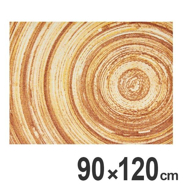 玄関マット Office & Decor Annual Ring 90×120cm ( 送料無料 業務用 屋内 建物内 オフィス 事務所 来客用 デザイン オフィス&デコ おしゃれ )