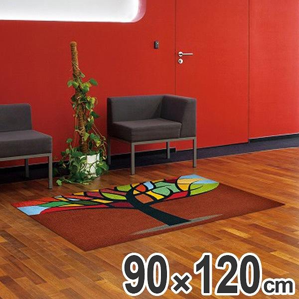 玄関マット Office & Decor Stained Tree 90×120cm ( 送料無料 業務用 屋内 建物内 オフィス 事務所 来客用 デザイン オフィス&デコ おしゃれ )