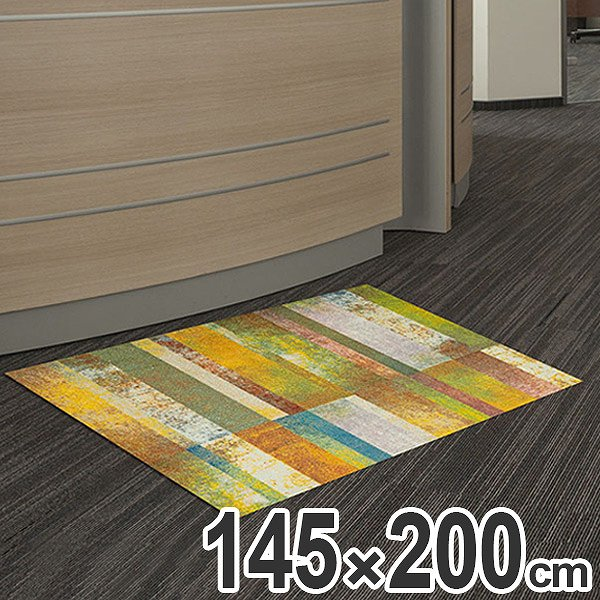玄関マット Office & Decor Promenade 145×200cm ( 送料無料 業務用 屋内 建物内 オフィス 事務所 来客用 デザイン オフィス&デコ おしゃれ )