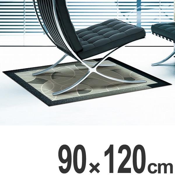 玄関マット Office & Decor Circles 90×120cm ( 送料無料 業務用 屋内 建物内 オフィス 事務所 来客用 デザイン オフィス&デコ おしゃれ )