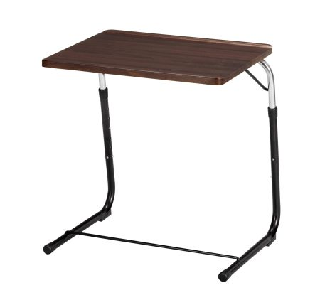Folding Side Table Brown Angle Adjustment (folding Side Table Folding Desk  PC Desk Sofa Table)