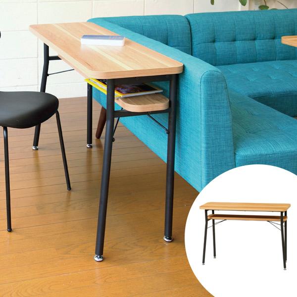 ダイニング カウンターテーブル スチールフレーム ケティル 幅100cm ( 送料無料 テーブル カウンター ハイテーブル アイアン バーテーブル 木製 おしゃれ バーカウンター カフェ バー 棚 リビング 一人暮らし ナチュラル )