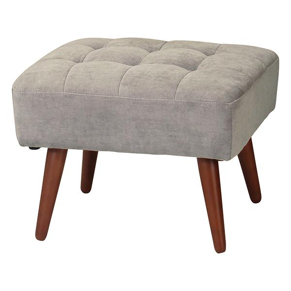 オットマン スツール ロータイプ兼用 ケティル 幅56cm ( 送料無料 足置き 椅子 ソファ フロアソファ 天然木 木製 チェア 椅子 いす イス )