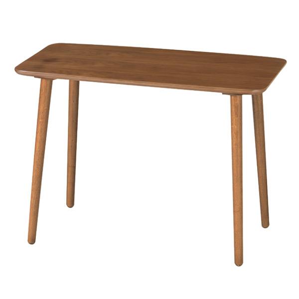 ハイテーブル 高さ64cm 幅90cm 木製 テーブル 天然木 ( 送料無料 リビングテーブル カフェテーブル 木製テーブル センターテーブル コーヒーテーブル 高め サイドテーブル ソファ横 机 つくえ 作業台 おしゃれ )