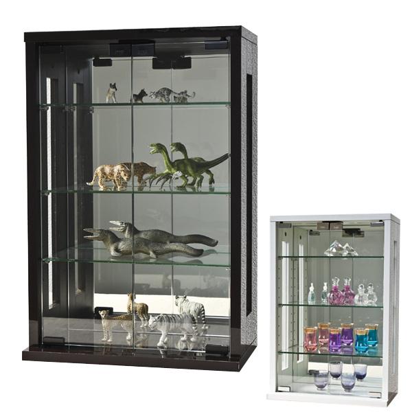 卓上コレクションケース 縦型 ガラス 幅40cm ( 送料無料 コレクションラック 卓上 収納 ディスプレイケース 飾り棚 フィギュア フィギュアケース 透明 ケース 棚 )