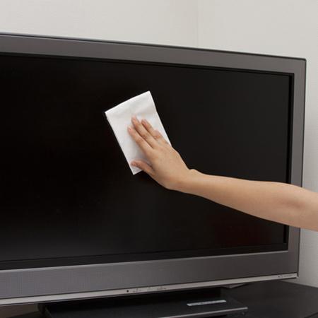 皮脂汚れ&指紋のあともきれいになる液晶テレビ用ウェットシート 液晶クリーナー ウェットシート 掃除 激落ちウェットシート 液晶テレビ用 15枚入 ( 液晶クリーナー ウェットシート 掃除 )