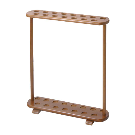 ステッキスタンド 組立式 木製 15本用 ( 送料無料 杖什器 歩行関連用品 介護用品 福祉用具 ステッキ立て 収納 )
