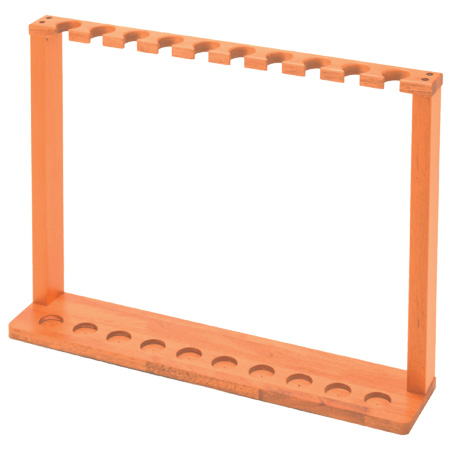 ステッキスタンド 組立式 木製 10本用 ( 送料無料 杖什器 歩行関連用品 介護用品 福祉用具 ステッキ立て 収納 )