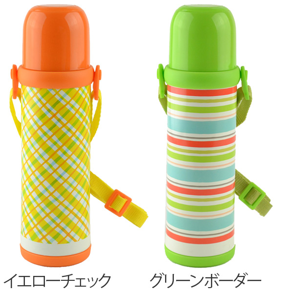 Drink smile Tadashi Pete made of water bottle 2WAY bottle 480 ml stainless  steel