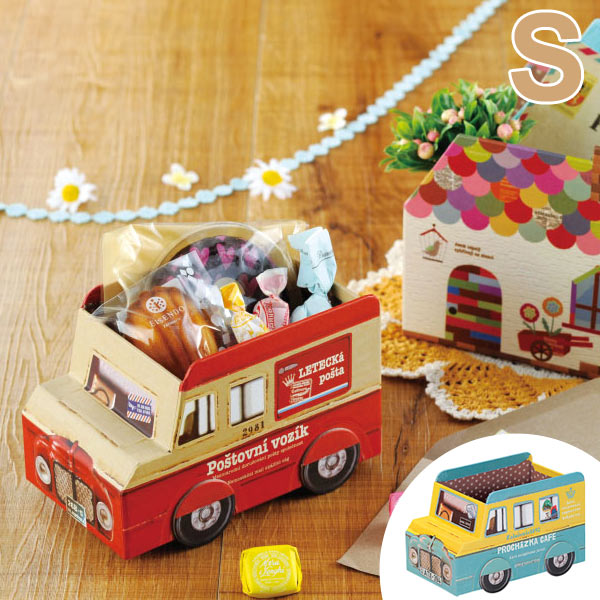 Craft Storage Transportes Bus S Paper Box Accessory Box (glove Toys Put  Candy And Toys Made Of Paper Toy Boxes Toys Box Paper BOX Vehicle Vehicle)