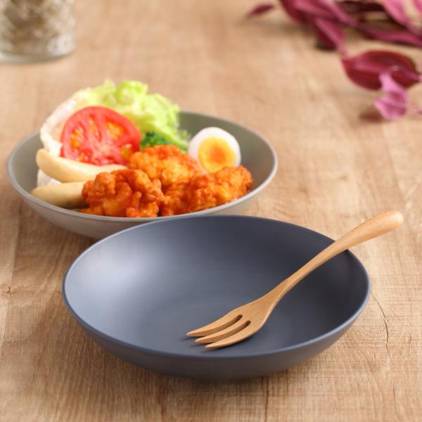 プレート プラスチック 食器 M 20cm SEE 皿  日本製 ( 食洗機対応 北欧 電子レンジ対応 お皿 取り皿 中皿 ケーキ皿 パン皿 取り分け皿 深皿 アウトドア おしゃれ グレー ネイビー 洋食器 割れにくい )
