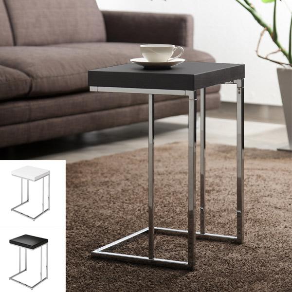 サイドテーブル ソファーサイド テーブル temorta 幅35cm ( 送料無料 テーブル リビング ホワイト ブラック 木製 シンプル ソファサイド 開梱設置 ベッドサイド サイド おしゃれ モノトーン 高級感 )