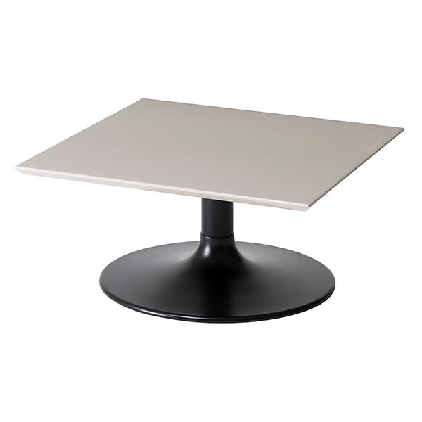 ローテーブル 正方形 リビングテーブル LIETO 70cm角 ( 送料無料 テーブル センターテーブル 机 開梱設置 開梱設置無料 カフェテーブル コーヒーテーブル スクエア 鏡面 )