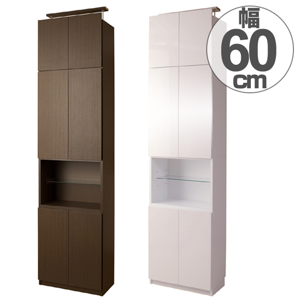 Wall Storage Cabinet Width 60 Cm Open Type ( Seismic Prop Storage Dry  Storage Bookcase Slim SLIM This Storage Combination System Storage 突ぱ Or ...
