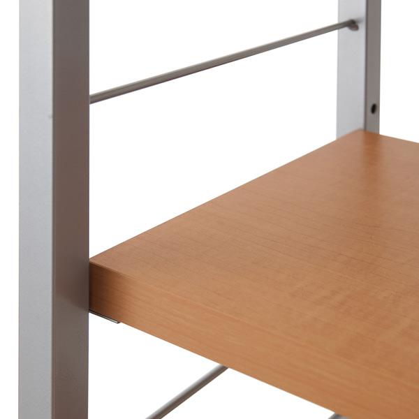 Prop Slim Desk For Extra Shelf Large Width 56 Cm Computer Bookshelf