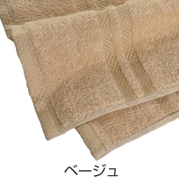 livingut bath towel beige color solid color towels made in japan