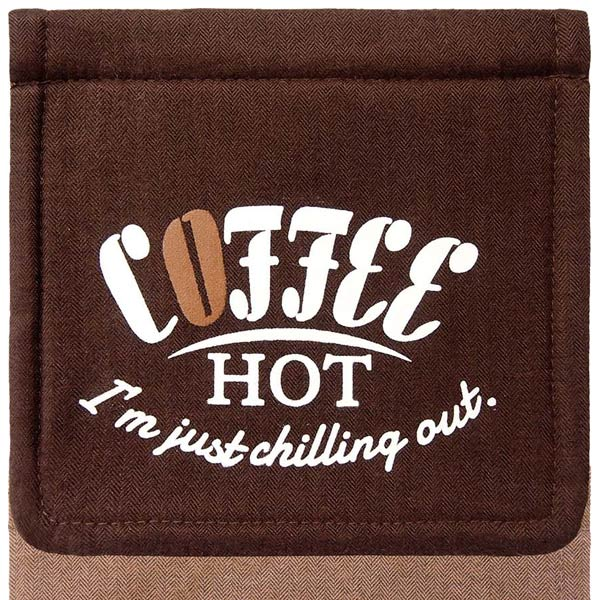 Cozydoors ペーパーホルダーカバー Hot Coffee ( ペーパーホルダー カバー トイレット トイレカバー おしゃれ トイレタリー トイレグッズ トイレ用品 ロールペーパーカバー トイレットペーパー )