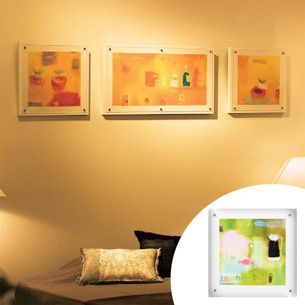 インテリアアート エマ・デイヴィス ハッピーグリーン 01 ( 送料無料 アートパネル 壁掛け 壁飾り アート アートデコ ウォールアート 絵画 インテリア 美術品 おしゃれ 引越 祝い )