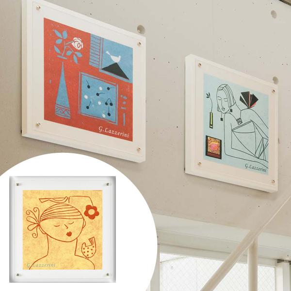 インテリアアート ジュリアーナ・ラッツェリーニ オシャレカラー 05 ( 送料無料 アートパネル 壁掛け 壁飾り アート アートデコ ウォールアート 美術品 おしゃれ 引越 祝い )