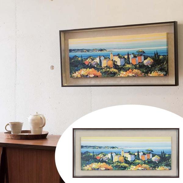 インテリアアート ケルフィリー SEA SCAPE 02 ( 送料無料 アートパネル 壁掛け 壁飾り アート アートデコ ウォールアート インテリア 美術品 おしゃれ 引越 祝い )