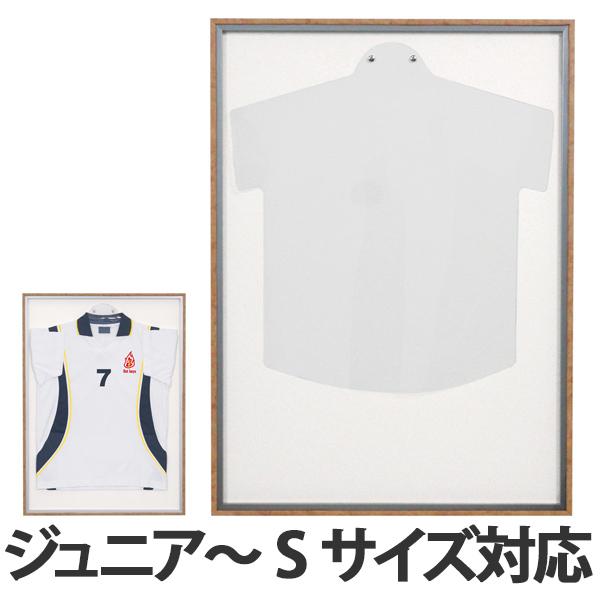 ユニフォーム額 L123 ホワイト MSサイズ ( 送料無料 ユニフォーム 額縁 額 ハンガー付き コレクション ディスプレー ユニフォームケース ケース フレーム Tシャツ 飾る 額装 インテリア 壁掛け シンプル )