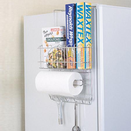 Kitchen Storage Refrigerator Side Storage Rack (kitchen Storage Kitchen  Storage Paper Towel Kitchen Paper Kitchen Roll Holder Roll Wrap Refrigerator  Storage ...