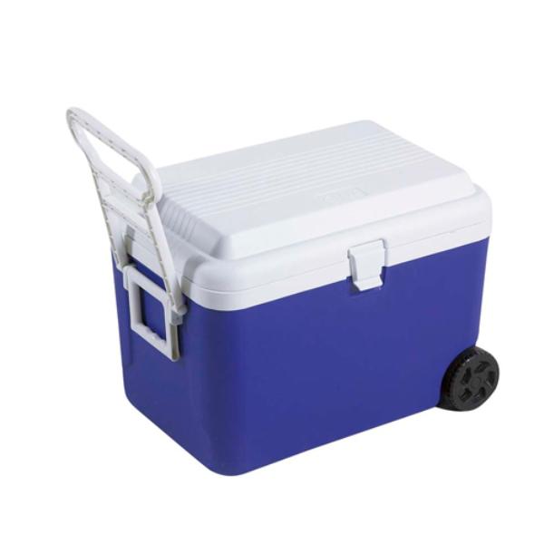 クーラーボックス リガードホイールクーラー 大容量 キャスター付き 48L キャプテンスタッグ (  保冷バッグ クーラーバッグ 48リットル 大型 アウトドア用品 キャンプ用品 冷蔵ボックス )