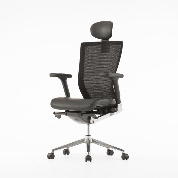オフィスチェア エグゼクティブチェアー メッシュバック ( 送料無料 オフィスチェアー メッシュ ハイバック レザー デスク用チェア 腰痛 オフィス 椅子 本皮 チェア 椅子 イス パソコンチェア 疲れにくい パソコンチェアー 仕事 )