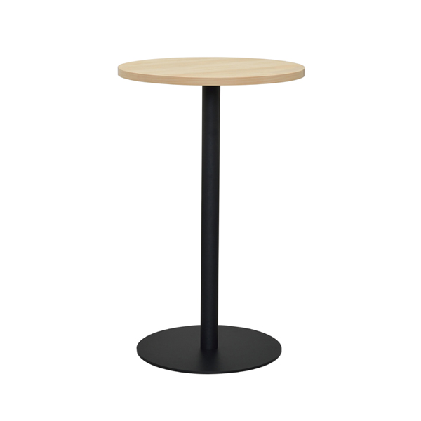 ラウンドテーブル スチール製 ハイテーブル リフレッシュ 直径60cm ( 送料無料 テーブル カフェテーブル 丸型 円形 おしゃれ シンプル オフィス カフェ スタンディング バーテーブル サイドテーブル ラウンド 家具 会社 )