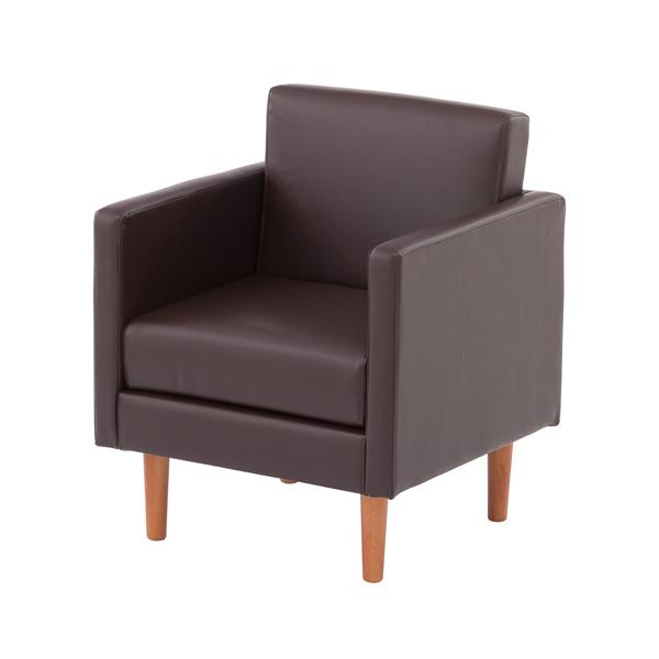 オフィスソファ 1人掛け ソファー シンプルソファー 幅60cm ( ひとり掛け 送料無料 ソファ 応接室 応接間 シンプル オフィス家具 ソファー 肘掛け付き ブラウン 茶色 茶 おすすめ 1人用 一人用 椅子 チェア アームチェア ひとり掛け アーム付き シンプル ), viewgarden(ガーデニング 雑貨):c5409a6c --- jpsauveniere.be