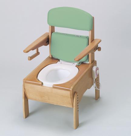 ポータブルトイレ きらく TH型 暖房便座 送料無料