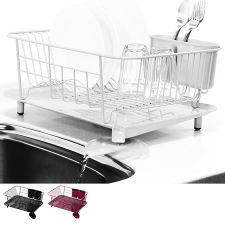 05P06May15 Dish drainer rack Dish drainer basket steel plate stand liberalist (draining basket drain tray dish rack drainer basket draining set kitchen ...  sc 1 st  Rakuten & livingut | Rakuten Global Market: 05P06May15 Dish drainer rack Dish ...