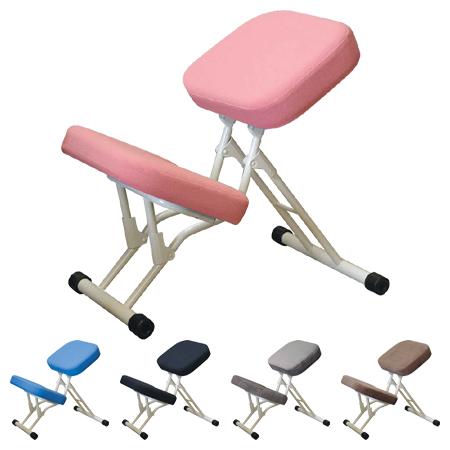 学習チェア セブンポーズチェア フレーム色ミルキーホワイト ( 送料無料 学習椅子 デスクチェア 折りたたみチェア 姿勢矯正 スツール イス パソコンチェアー 大人 子供 )