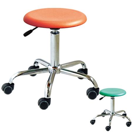 スツール 椅子 ブランチブロースツール キャスター付き ( 送料無料 高さ調節 背もたれなし パソコンチェア イス いす チェア ハイチェア 昇降 )