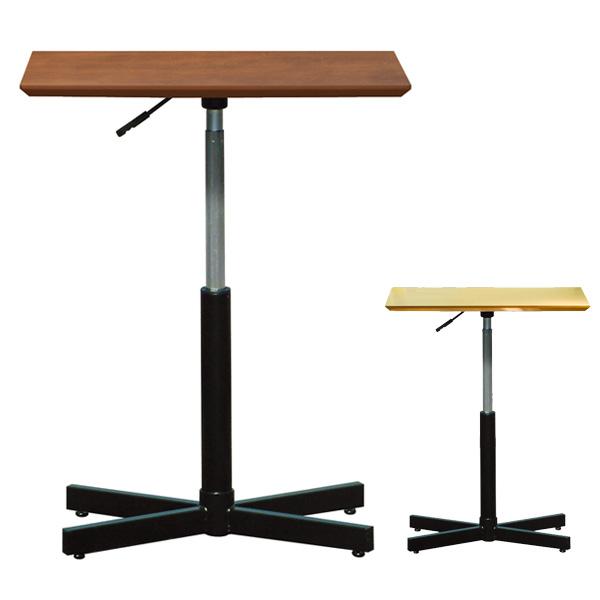 角テーブル ブランチヘキサテーブル 昇降式 ( 送料無料 デスク コーヒーテーブル 机 高さ調節 センターテーブル リビングテーブル ローテーブル )