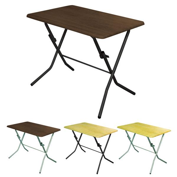 折りたたみテーブル スタンドタッチテーブル 幅90cm ( 送料無料 デスク 机 作業台 パソコンデスク フォールディングテーブル コーヒーテーブル )