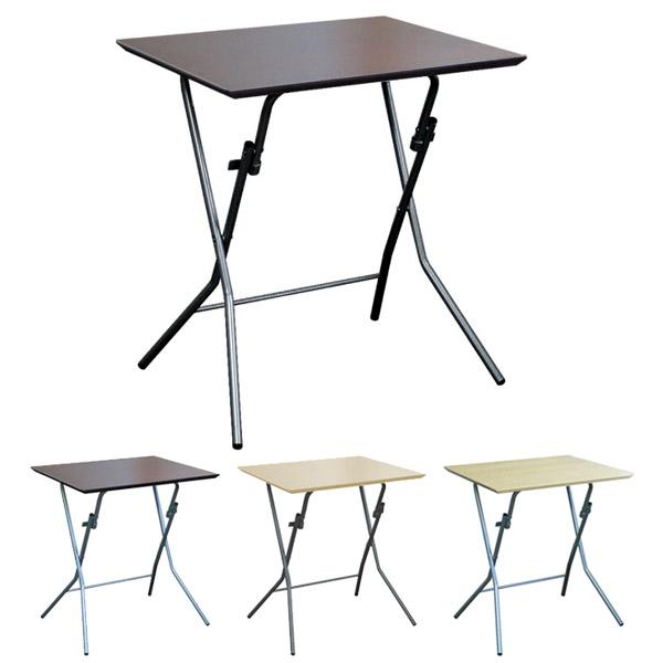 折りたたみテーブル スタンドタッチテーブル 幅63.5cm ( 送料無料 デスク 机 作業台 パソコンデスク フォールディングテーブル コーヒーテーブル )