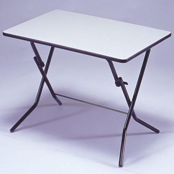折りたたみテーブル スタンドタッチテーブル メラミン樹脂加工 幅90cm ( 送料無料 デスク 机 作業台 パソコンデスク フォールディングテーブル コーヒーテーブル )