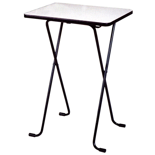 Folding Table High Type Melamine Shelf Width 60 X 45 Cm Height 85 Counter Desk Coffee Computer
