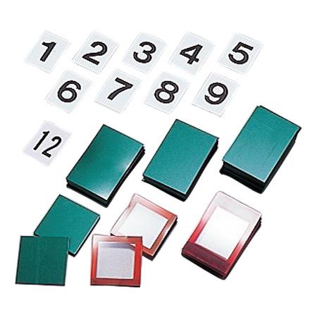 無災害記録板 マグネット札セット 900シリーズ用 ( 送料無料 看板 表示パネル 掲示板 )